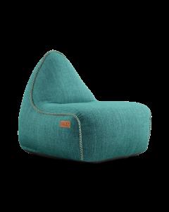 Cobana Lounge Chair Petrol Melange